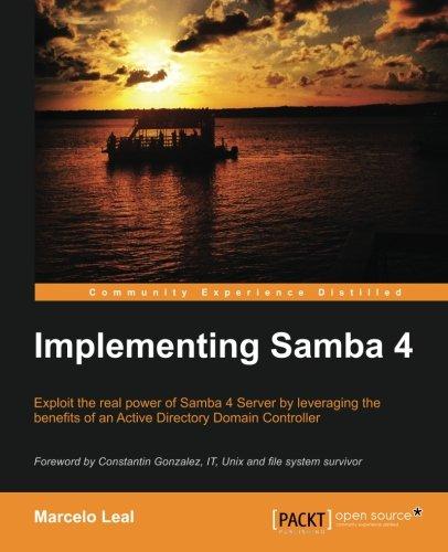 Implementing Samba 4 por Marcelo Leal