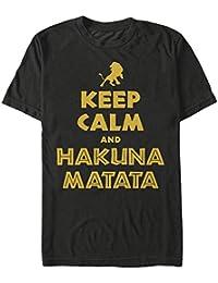 El Rey León mantener la calma y Hakuna Matata camiseta