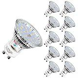 Ampoules LED GU10, 5W équivalent 60W, 600lm, Blanc Froid 6000K, 120° Larges...