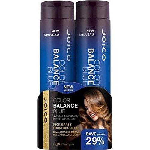 Joico balance Couleur Anti-brass Bleu Shampoing 300 ml et après-shampoing 300 ml Duo