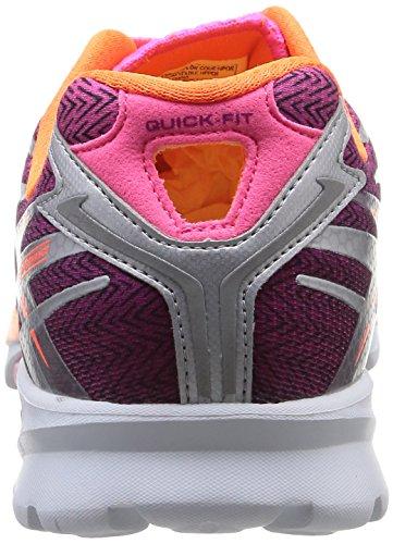 Skechers Go Run 4, Chaussures de running femme Rose (Hpor)