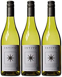Invivo Organic Sauvignon Blanc Marlborough Wine 2013 75 cl (Case of 3)