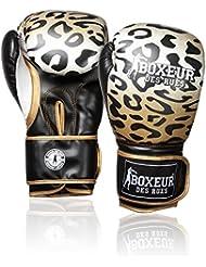 Boxeur Des Rues Fight Activewear Guantes de boxeo dorado Animalier Talla:10 Oz