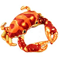 Lazada Realistic Stuffed Crabs Cute Dolls Plush Crabs Toys Red 25cm Gifts Collection