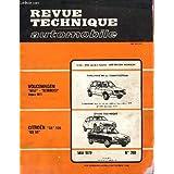 REVUE TECHNIQUE AUTOMOBILE / MAI 1979 - N°389 / VOLKSWAGEN GOLF SCIROCCO DEPUIS 19777 / CITROEN GS 1130 GS X3 ...