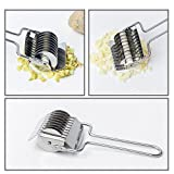 from Unknown Stainless Steel Noodle Cutter,Noodle Lattice Roller Pasta Spaghetti Maker Kitchen Cooking Tools Pressing Dough Cutter Pasta Make Tool
