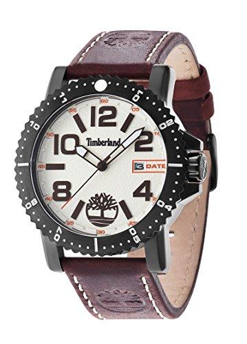 Timberland 14479JSB/07 - Reloj , correa de cuero color marrón