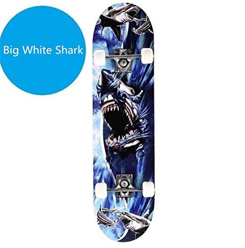ZERO FAN Skateboard, Skate Board, Skateboards-Mode Führenden Schock Widerstand Solid Platte Top-Qualität Geburtstag Kinder