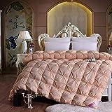 zhangxiaoran Bai Duck Down Quilt Sie die Quilt Core Quilt Solo Coupe Herbst Quilt und Winter Quilt Verdickung Schützen warme Winter Dicke-220×247cm