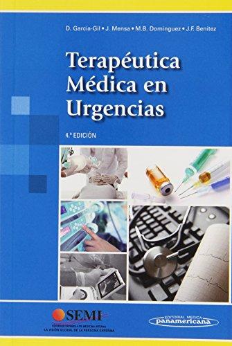 Terapéutica Médica en Urgencias por José Mensa Pueyo Daniel García-Gil