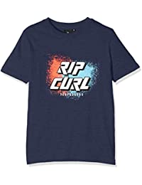 Rip Curl Slant Logo Ss Tee T-Shirt Garçon