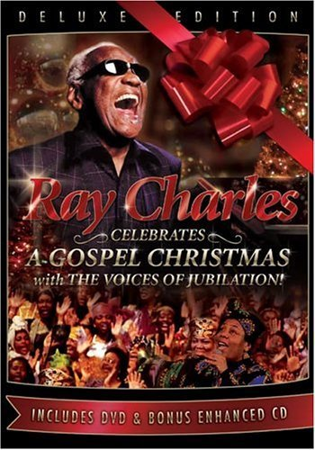 Ray Charles Celebrates: A Gospel Christmas w/Voices of Jubilation - Deluxe Edition (DVD/CD) by Urban Works