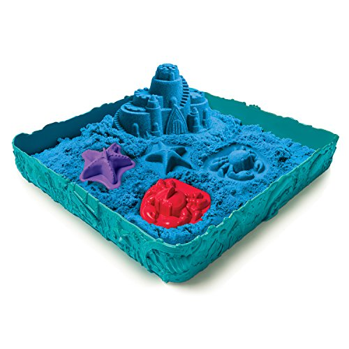 *Spin Master 6029058 – Kinetic Sand – Box Set (454 g) – Blau*