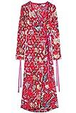 FIND Damen Kimono-Kleid  Rot, 38 (Herstellergröße: Medium)