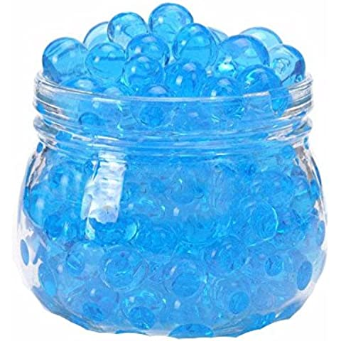 jiastone Colorful Magic cristallo Water Jelly fango del terreno Beads Balls per giardinaggio e decorazione, blu, 200