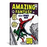 iCanvasART Marvel Comics Spiderman Amazing Fantasy problème Coque Impression sur Toile n ° 15, 18par 30,5cm