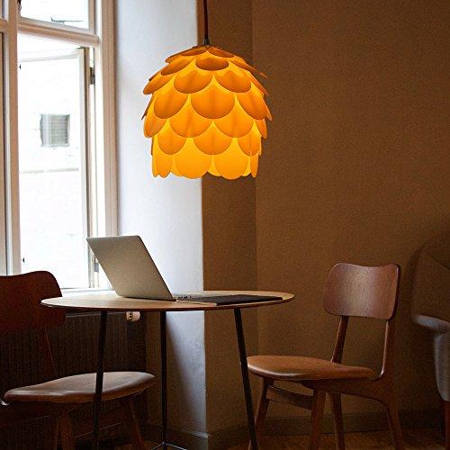 HROOME DIY 3D Puzzle Lampenschirm Blume Hngeleuchte Pendelleuchten Kronleuchter Wohnzimmer