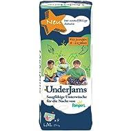 Pampers UnderJams Für Jungen, Größe L/XL, 27+ kg, 4er Pack (4 x 9 Windeln)