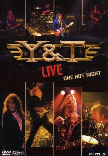 Preisvergleich Produktbild Y&T - One Hot Night, Live (2 DVDs + Audio-CD)