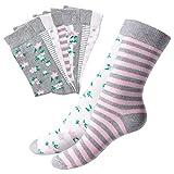 10 Paar süße Damen Socken-35-38