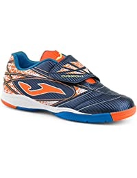Joma Champion Velcro, color navy/orange, talla UK-6