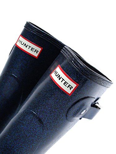 Hunter Original Starcloud Short Damen Stiefel Metallisch METALLIC|BLUE
