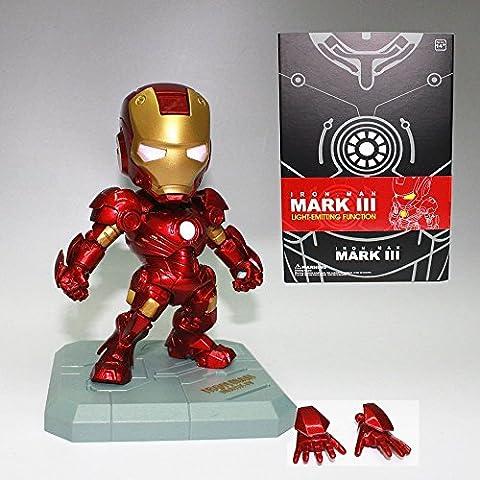 Avengers Iron Man Mark III Action Figure With Light-Emitting