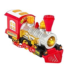 Blowing Train Car Battery Operated : Kids Toy Blowing Bubble Train Car Music, Lights And Bumpn Go Battery Operated : Kids Toy Locomotive Engine Bubble Steam