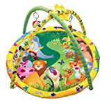 Toys Bhoomi Twist And Fold Fun Jungle Baby Activity Gym - Newborn Playmat