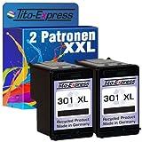 PlatinumSerie® 2 Druckerpatronen kompatibel für HP 301 XL Black Deskjet 2510 2540 2542 2544 2544 AIO 3000 3050 3050 A 3050 AIO 3050 S