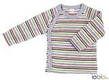 Popolini Wickelhemd 1/1 Langarm Frottee GOTS Multicolor 3 50/56