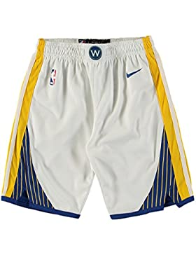 Nike NBA Golden State Warriors Curry Durant Thompson Green 2017 2018 Association Edition Short Official, Pantalon...