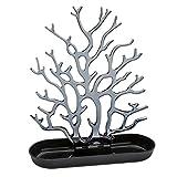 Koziol Cora - Supporto / svuotatasche da tavolo Negro sólido y antracita