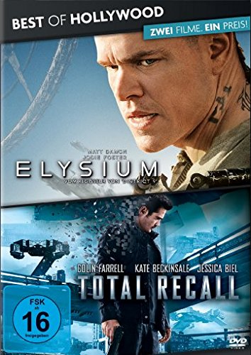 elysium dvd Best of Hollywood - 2 Movie Collector's Pack: Elysium / Total Recall [2 DVDs]