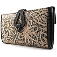 Geldbörse Damen, Handmade Spanien, Portemonnaie Damen, Casanova, Gemacht Aus Haut, Ref. 26818 Braun