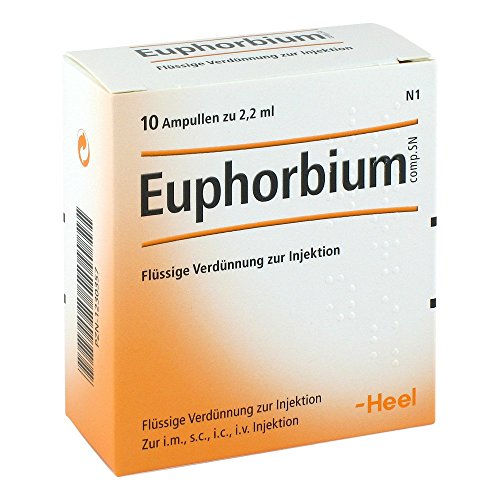 Euphorbium Compositum Sn 10 stk