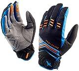 SealSkinz Dragon Eye étanche VTT Gants S Black/Blue/Orange