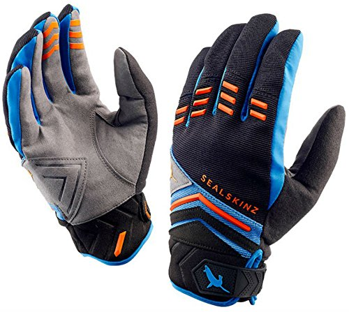 Sealskinz Dragon Eye MTB Handschuhe wasserdicht M Black/Blue/Orange