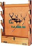 GUN RACK Papier Pläne SO EINFACH Anfänger Look wie Experten Bj eigenen San Angelo Wand Stil zu halten Gewehre Verwendung dieser Schritt für Schritt DIY Muster von woodpatternexpert