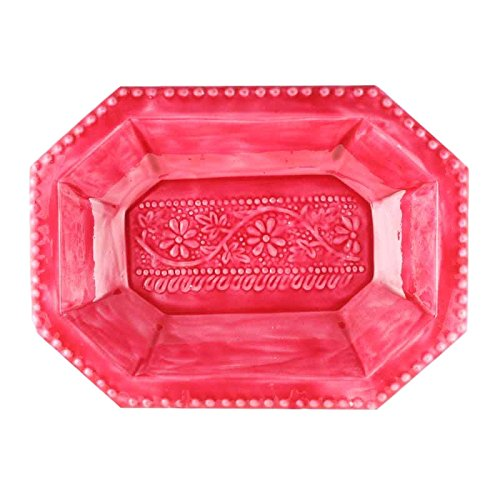 Better & Best 2781901 – Plaque octogonale, de Fonte émaillée, Couleur Rouge