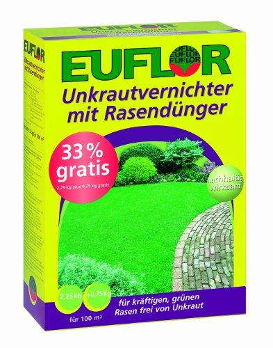 Euflor Unkrautvernichter mit Rasendünger 3 kg