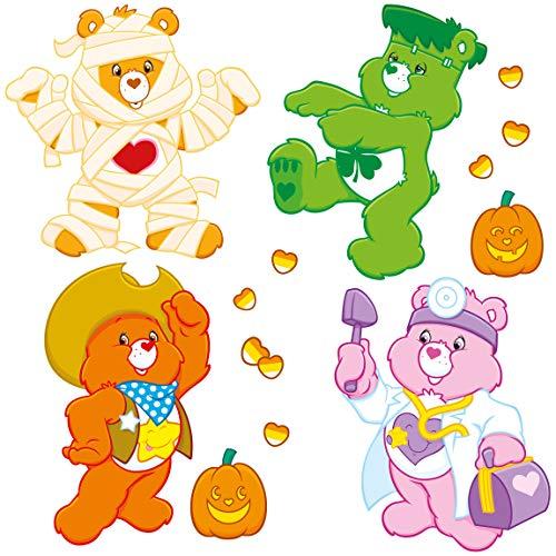 Bilderwelten Wandtattoo - Glücksbärchis Halloween Set, HxB: 80 x 80cm