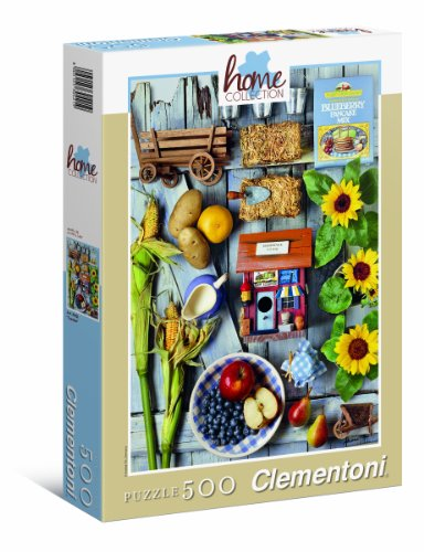 Clementoni 30421 - Garden - Puzzle High Quality Collection 500 pezzi
