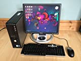 *Latest* Dell Optiplex 745 SFF Windows 7 Full Desktop PC Computer, with Monitor, Keyboard, Mouse