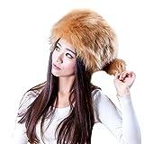 URSING Mode Damen Fellmütze Wintermütze Behalten Warm Kunstpelz Kopfbedeckung Schnee