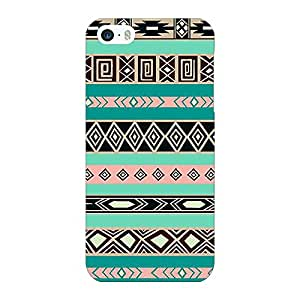 Jugaaduu Aztec Girly Tribal Back Cover Case For Apple iPhone 5S