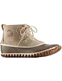 Sorel Damen Aus n Ungefähr Regen-Ankle-Boots Oatmeal