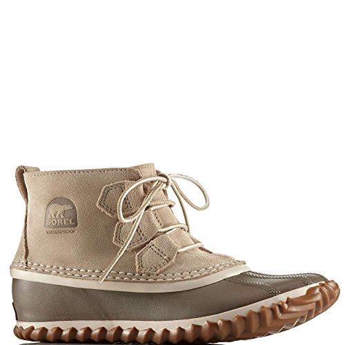 Sorel Donna Oatmeal Beige Out N About Scamosciato Stivali Oatmeal