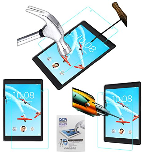 ACM Tempered Glass Screenguard for Lenovo Tab 4 8 Plus Screen Guard Scratch Protector