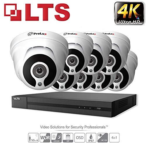 HIKVISION 5 MP CCTV Sicherheit System 3 x LTS Kameras cmht1352 N-28 4 K Auflösung ds-7204huhi/K1 DVR Kein HDD
